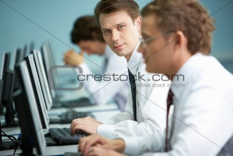 Ideal office worker