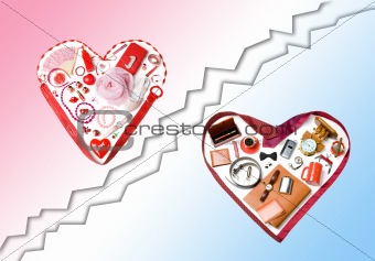 Accessory hearts