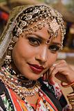 Portrait of a Tribal Dancer