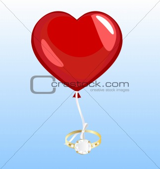 ring and balloon