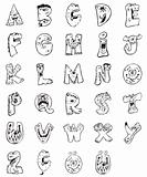 animals letters