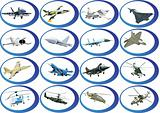 Icons from the military aviation