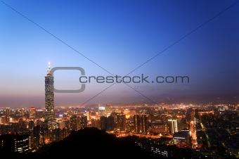 Cityscape in night
