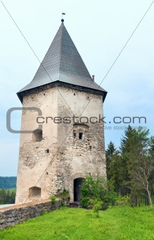 old castle tower