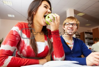 Apple break