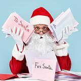 Troubled Santa