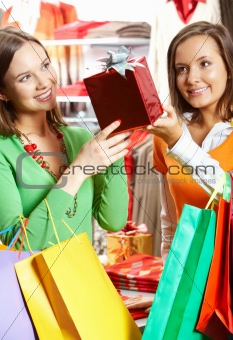 Choosing presents