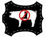 No pigskin boots