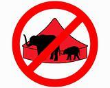 Elephants in circus prohibited