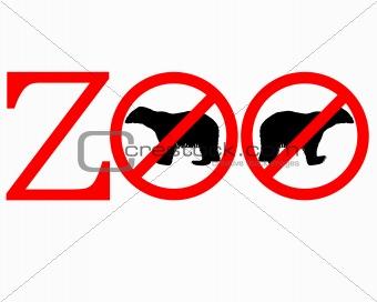 Polar bear zoo prohibited