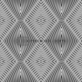 Seamless geometric rhombuses pattern.