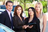 Business Team of Businessman & Businesswomen