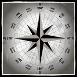 old compass photograph