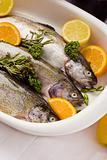 Trout with Orange and Lemon