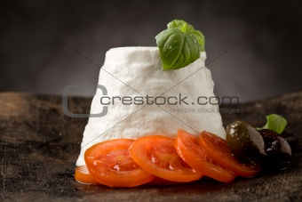 Ricotta Cheese with Tomatoes