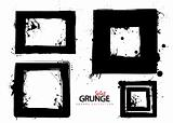 Grunge square collection