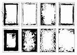 Splat grunge picture frame