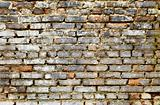 Dirty brick wall - grunge background