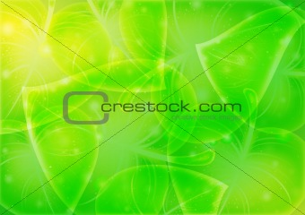 Abstraction-leaf-background vector 10 eps