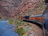 Train Through the Gorge