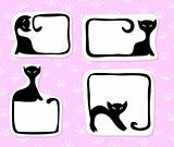 Cat stickers