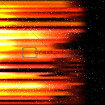 abstract hot background. Vector illustration