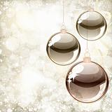 Abstract background of holiday lights and snowflakes. Vector.