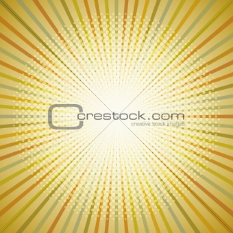 Retro abstract background.