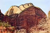 The Great White Throne Zion Canyon National Park Utah