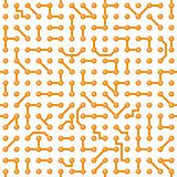 Seamless vector texture - circuit board