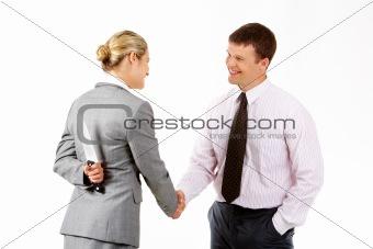 Dangerous handshake