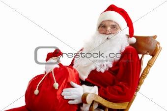 Santa with a sack