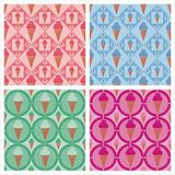 cute ice cream patterns