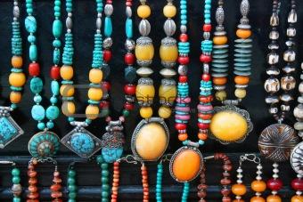 Tibetan national beads