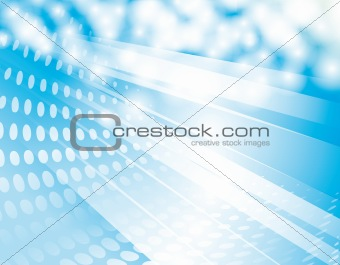 Abstract background of shining light