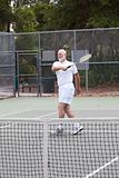 Active Senior Man - Tennis
