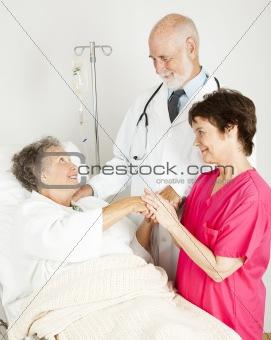 Attentive Hospital Staff