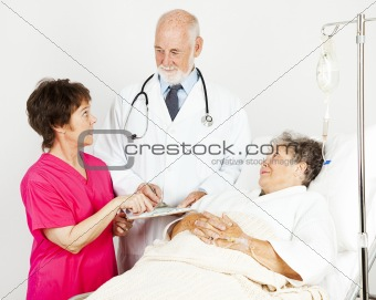 Discussing Patient Progress