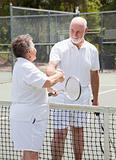 Tennis Seniors - Handshake