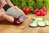 Onion slicing