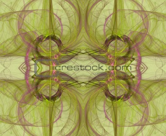 Seamless Background Pattern in Green