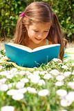 Reading girl
