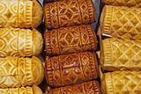 delicious smoked cheese from polish tatra mountain