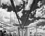 Road above Brooklyn Bridge