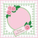 Decorative greeting card