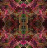 Seamless Multi-Colored Fractal Pattern