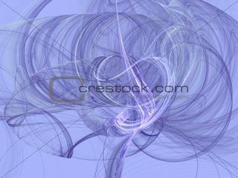 Lavender Smoky Fractal Swirls