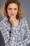 Portrait of the active woman