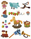 cartoon child toy icon