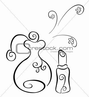 Cosmetics symbol